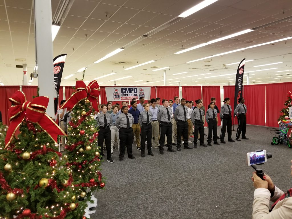 CMPD Explorers Christmas Challenge Integrateideas